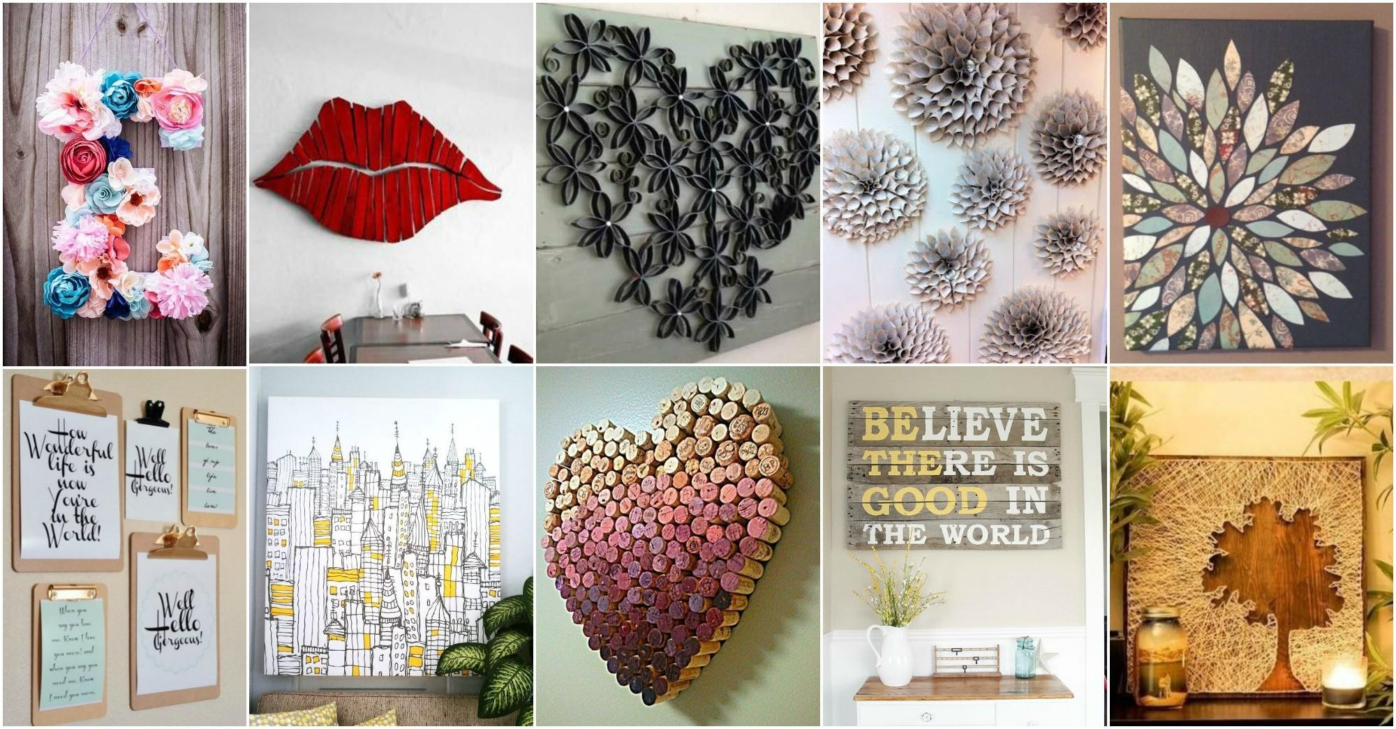 More Amazing Diy Wall Art Ideas Cozy Home