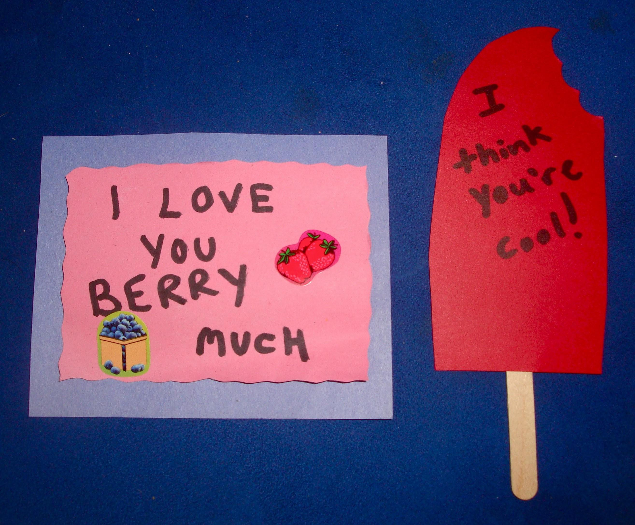 More Cute Valentine Crafts Kids Punny Homemade