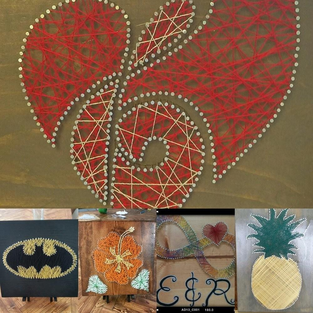 More Our String Art Master Pieces Yelp