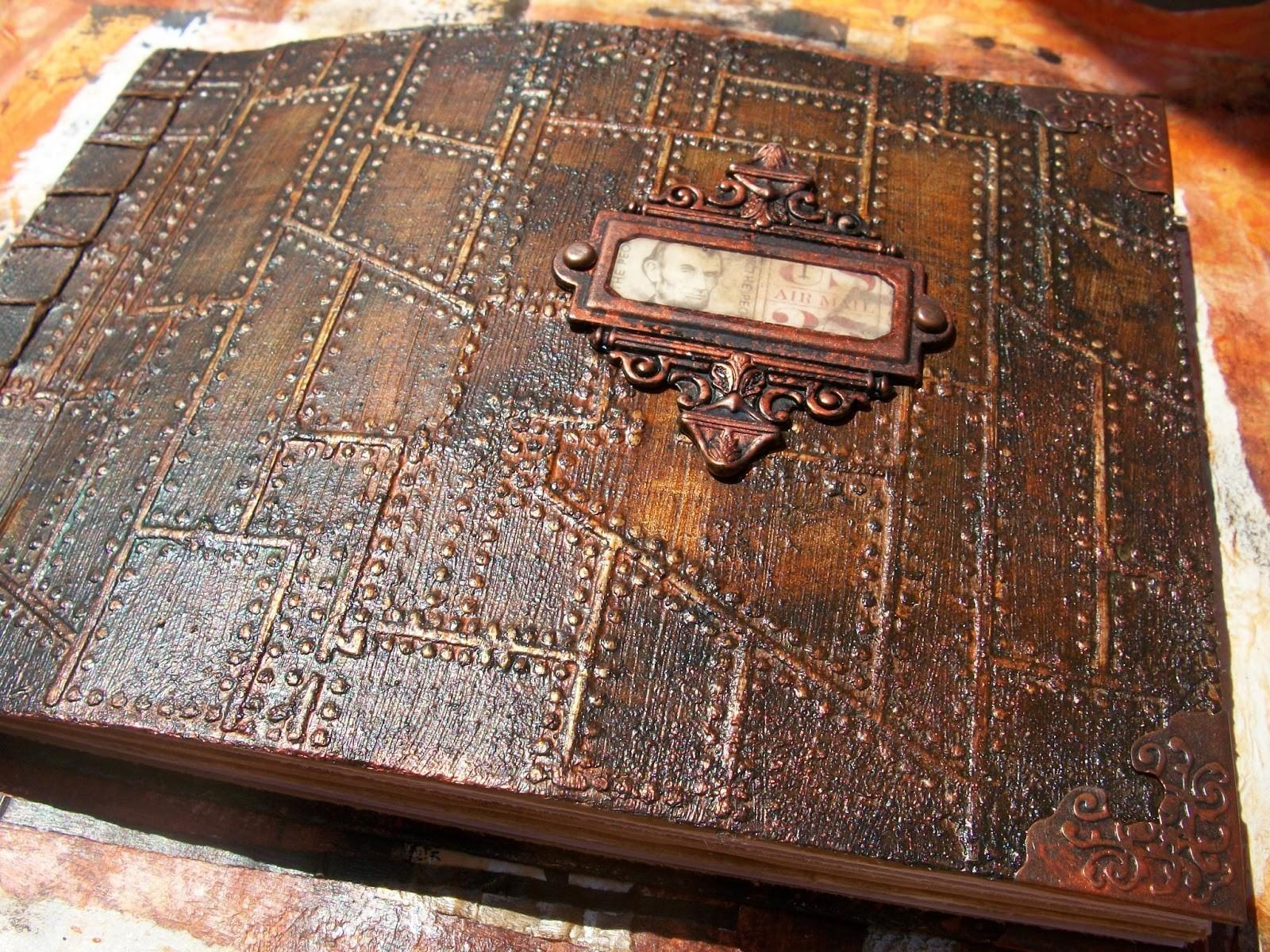 Morgan Fae Trinkets Rusty Japanese Stab Book