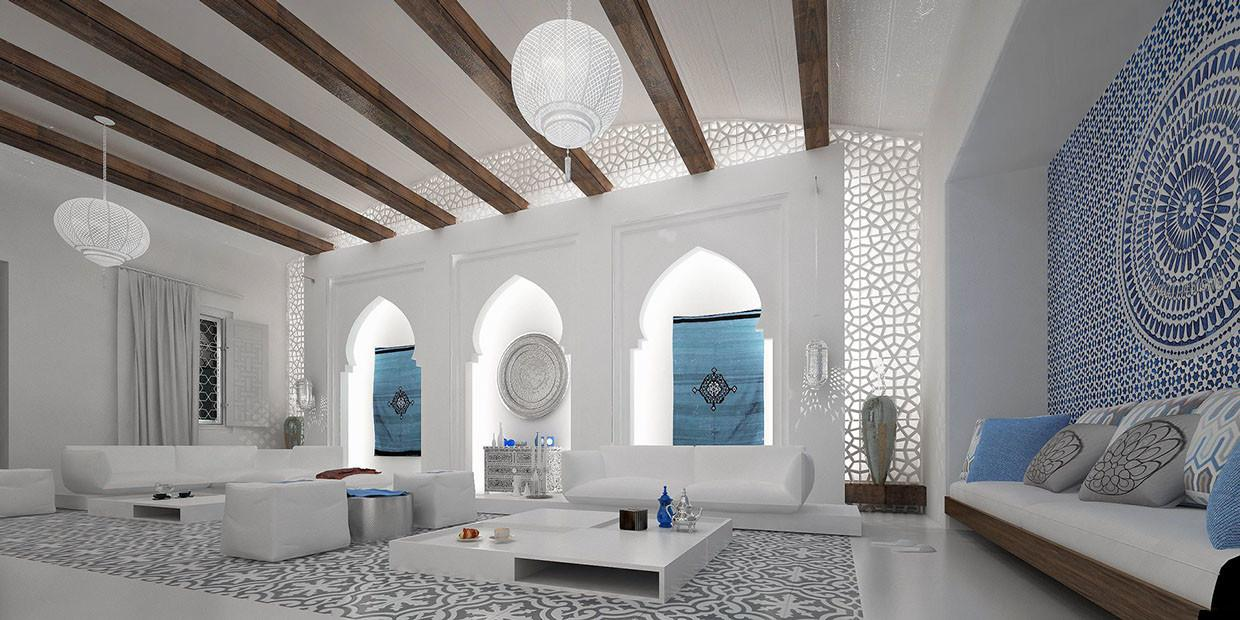 Moroccan Living Room Ideas Modern House