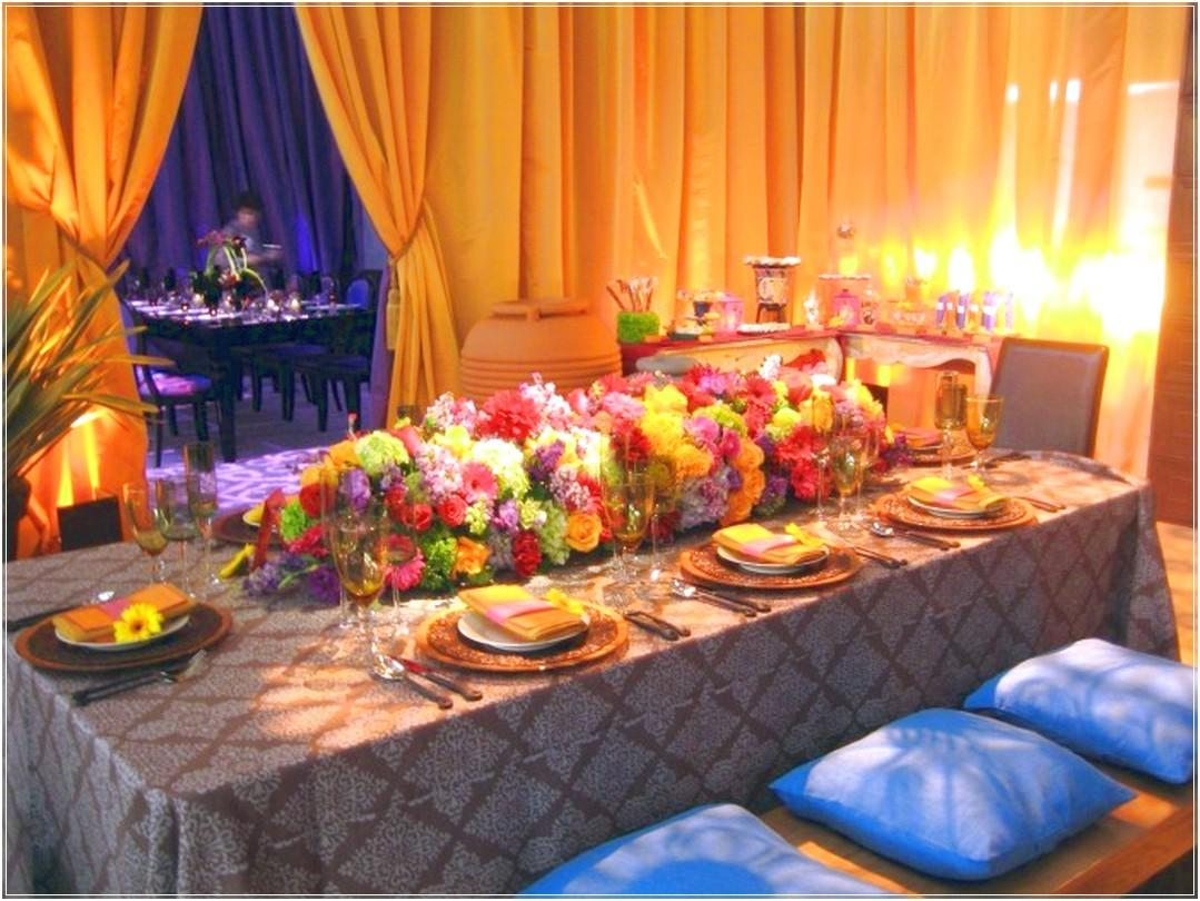 Moroccan Setting Dinner Party Ideas Romatic Advice