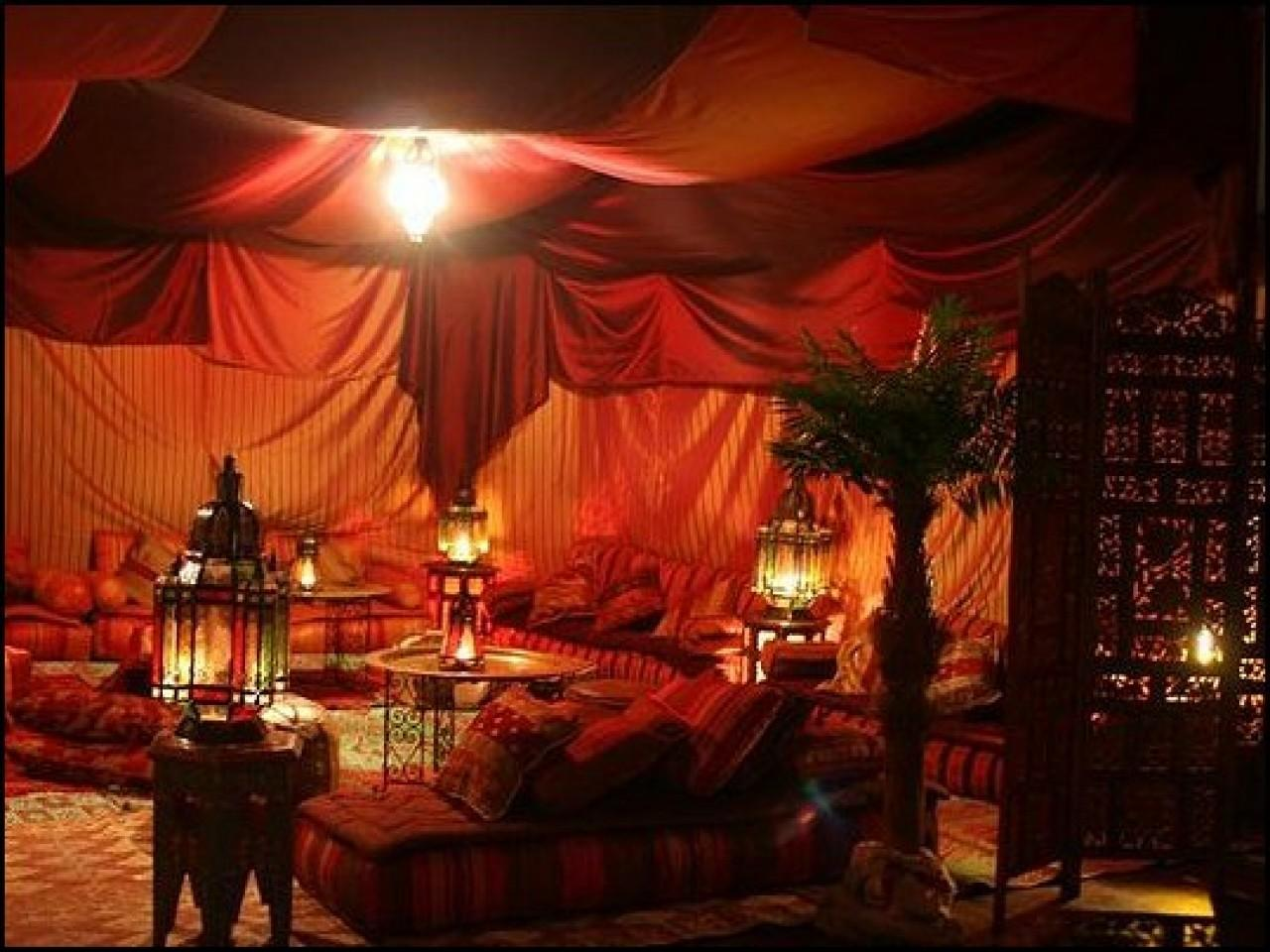 Moroccan Themed Bedrooms Tent Forest