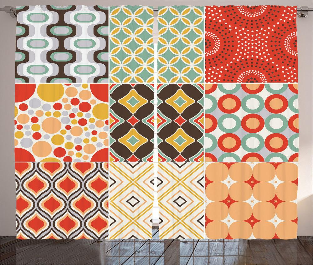 Mosaic Style Vintage Pattern Geometric Abstract Home Decor
