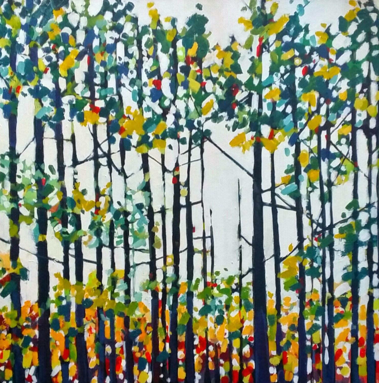 Mosaic Trees Art Collector Maine