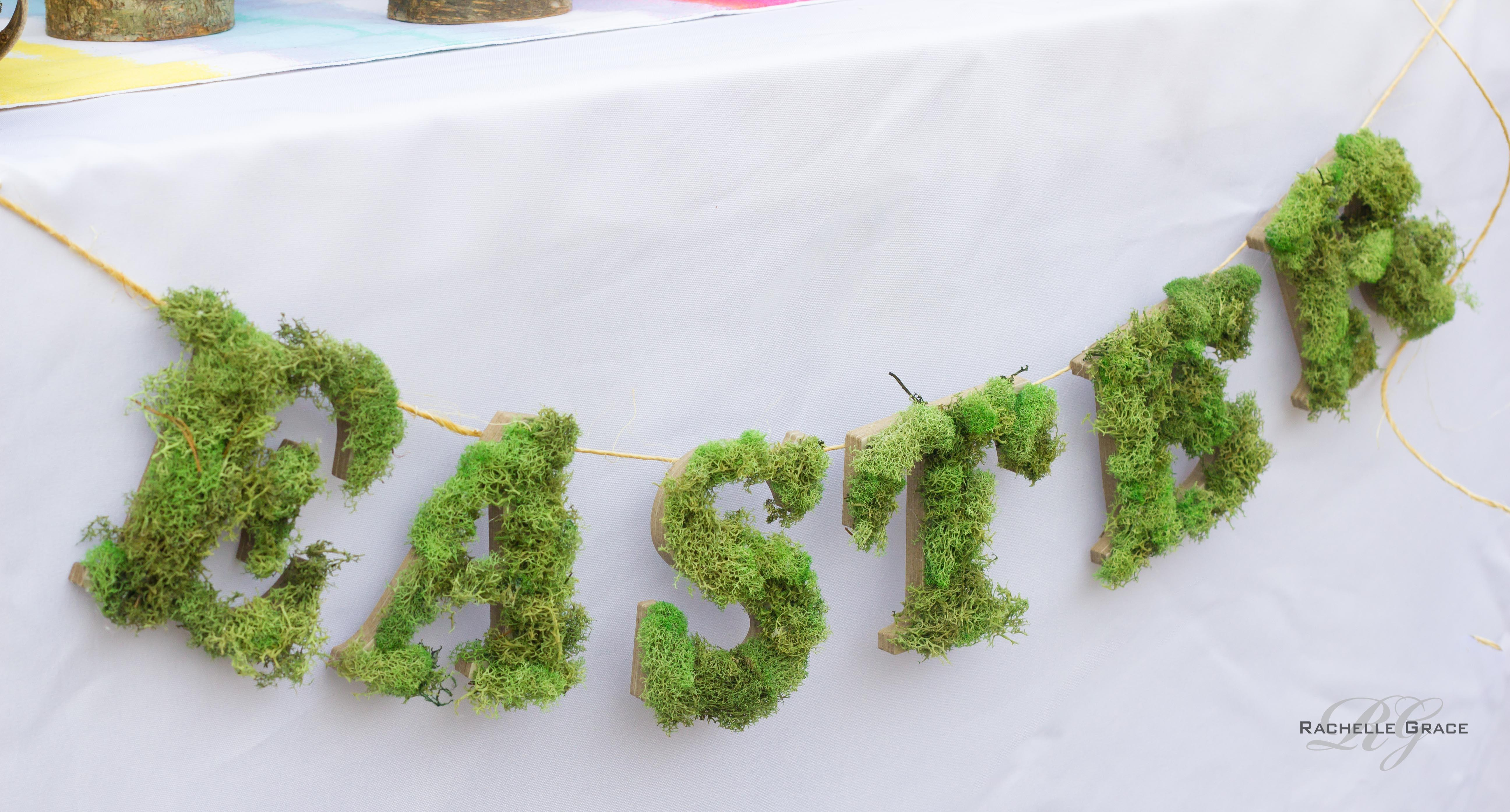 Moss Banner Diy Everyday Party Magazine