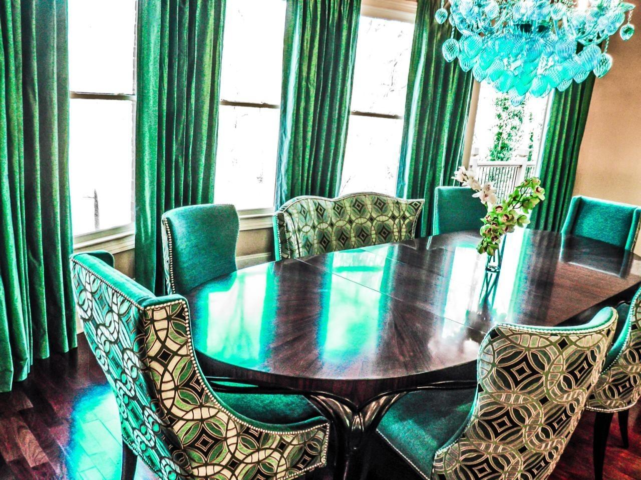 Most Beautiful Emerald Green Interior Themes