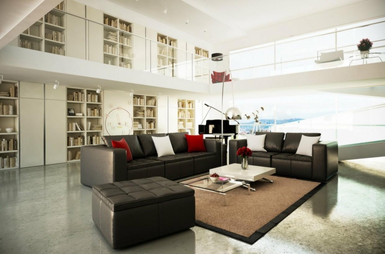 Most Beautiful Spacious Living Room Decorating Ideas