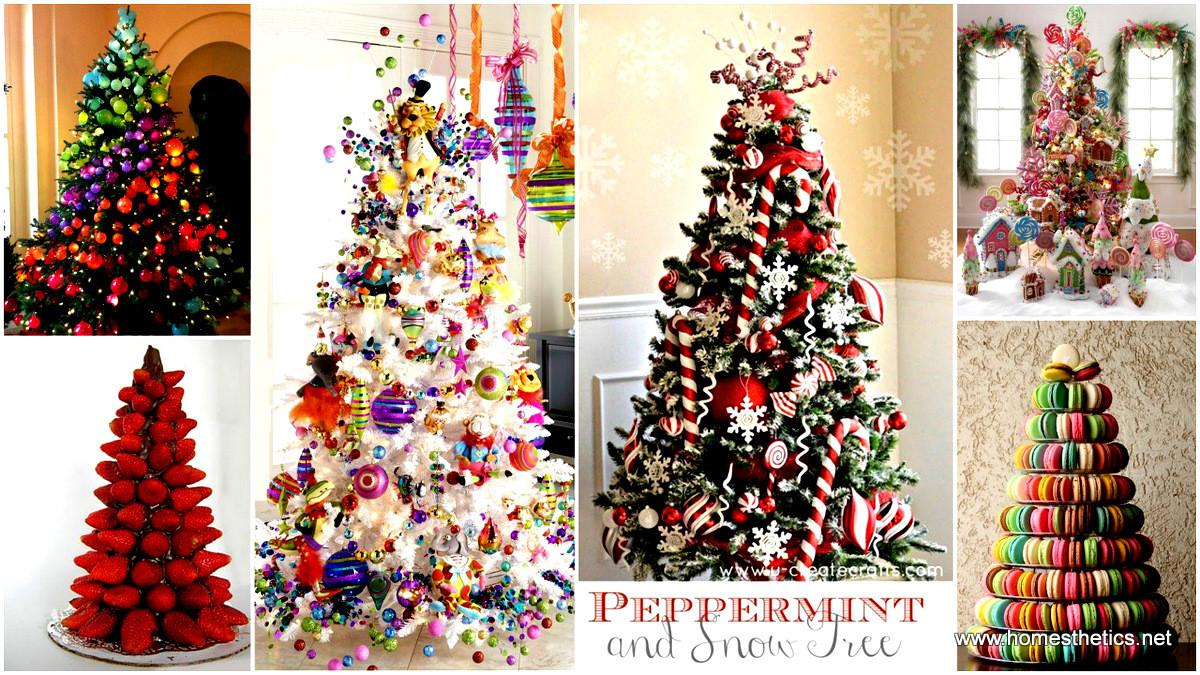 Most Colorful Sweet Christmas Trees
