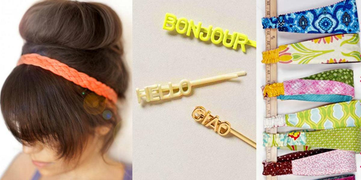 Most Creative Diy Hair Accessories Could Find