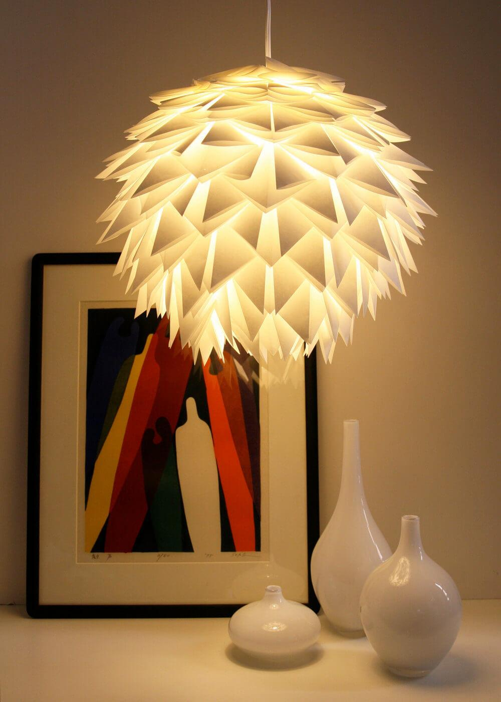 Most Creative Paper Lamps Can Diy Less