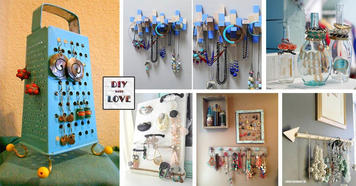 Most Diy Coolest Hanger Ideas Your Jewelry