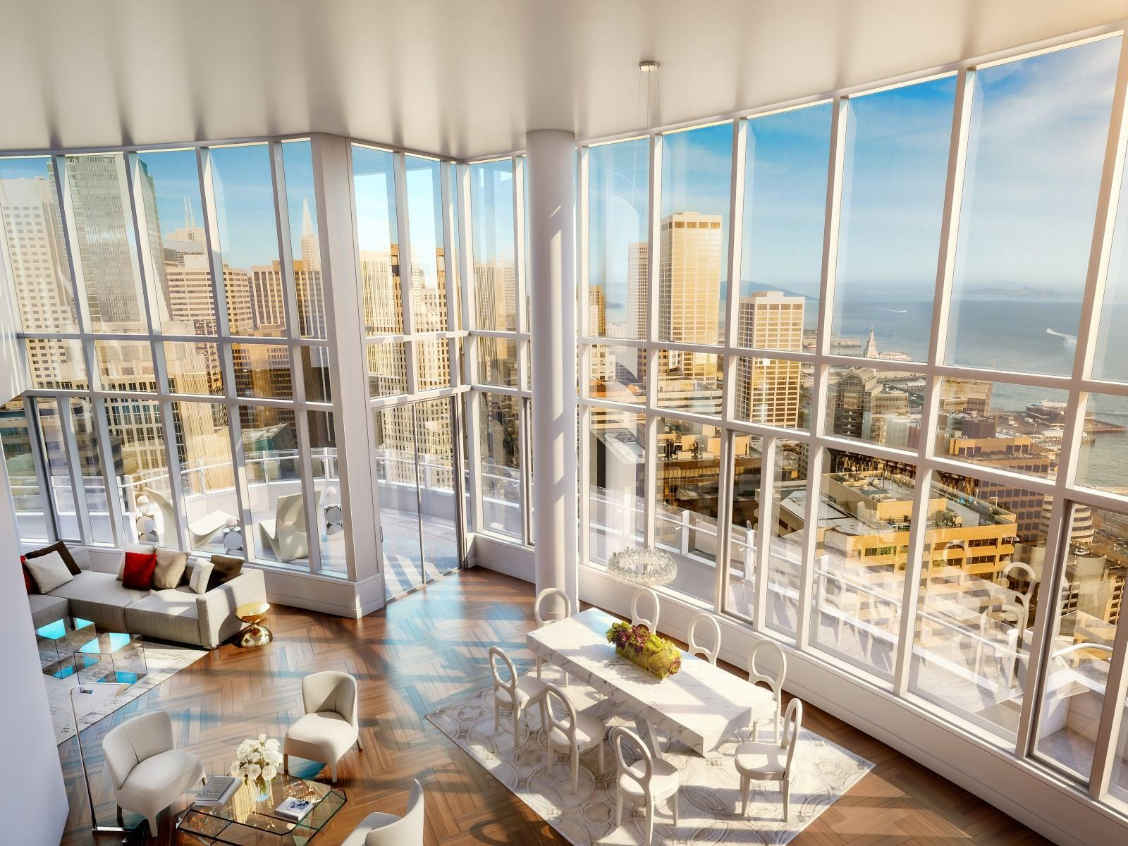 Most Expensive Penthouses World San Francisco