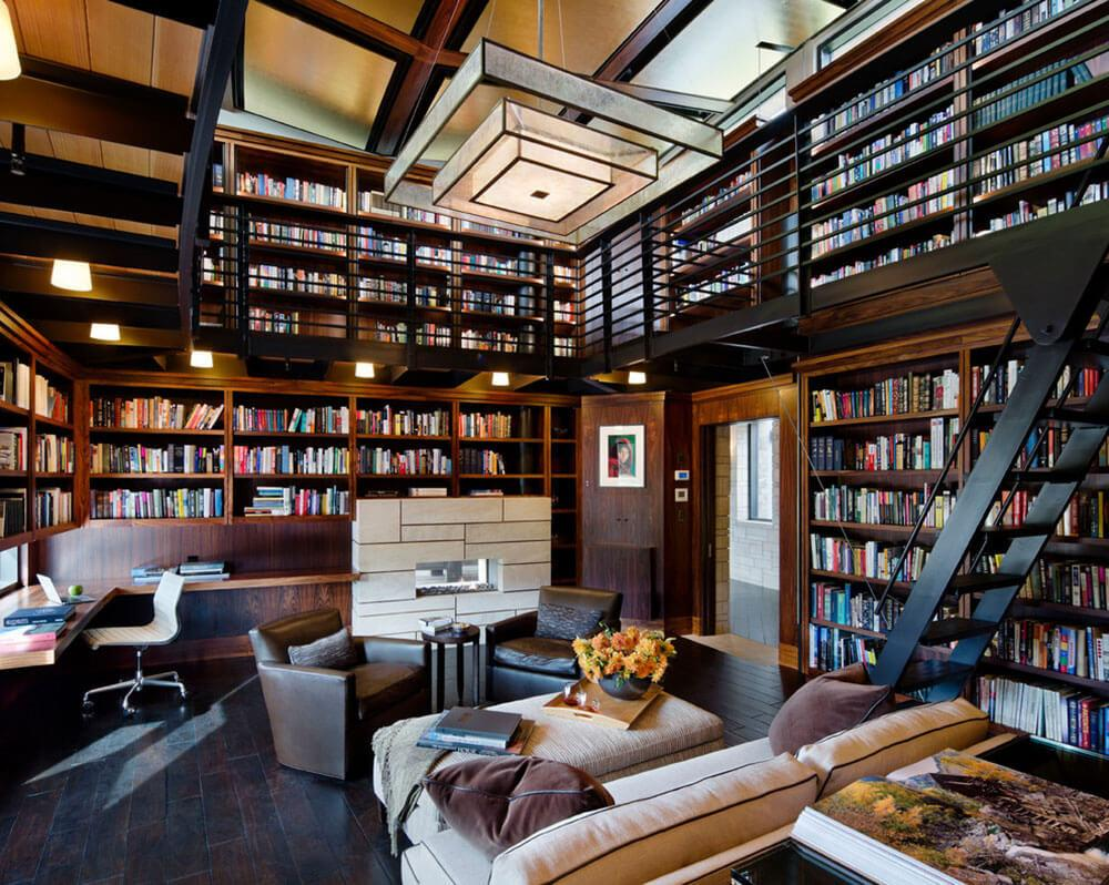 Most Famous Architects Their Inspiring Home Library