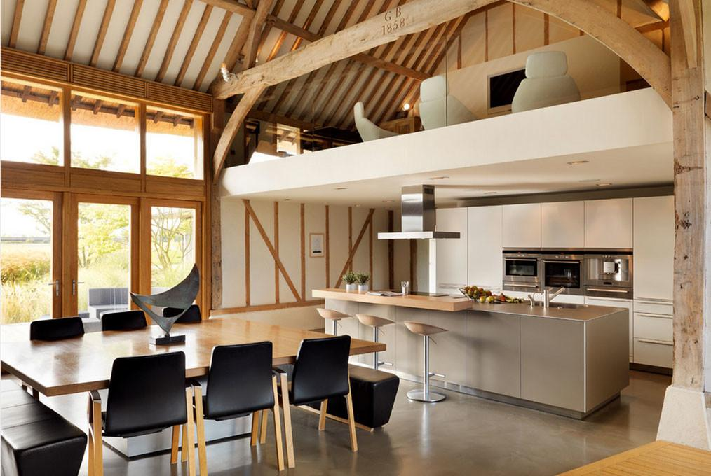 Most Incredible Kitchens Under Mezzanine