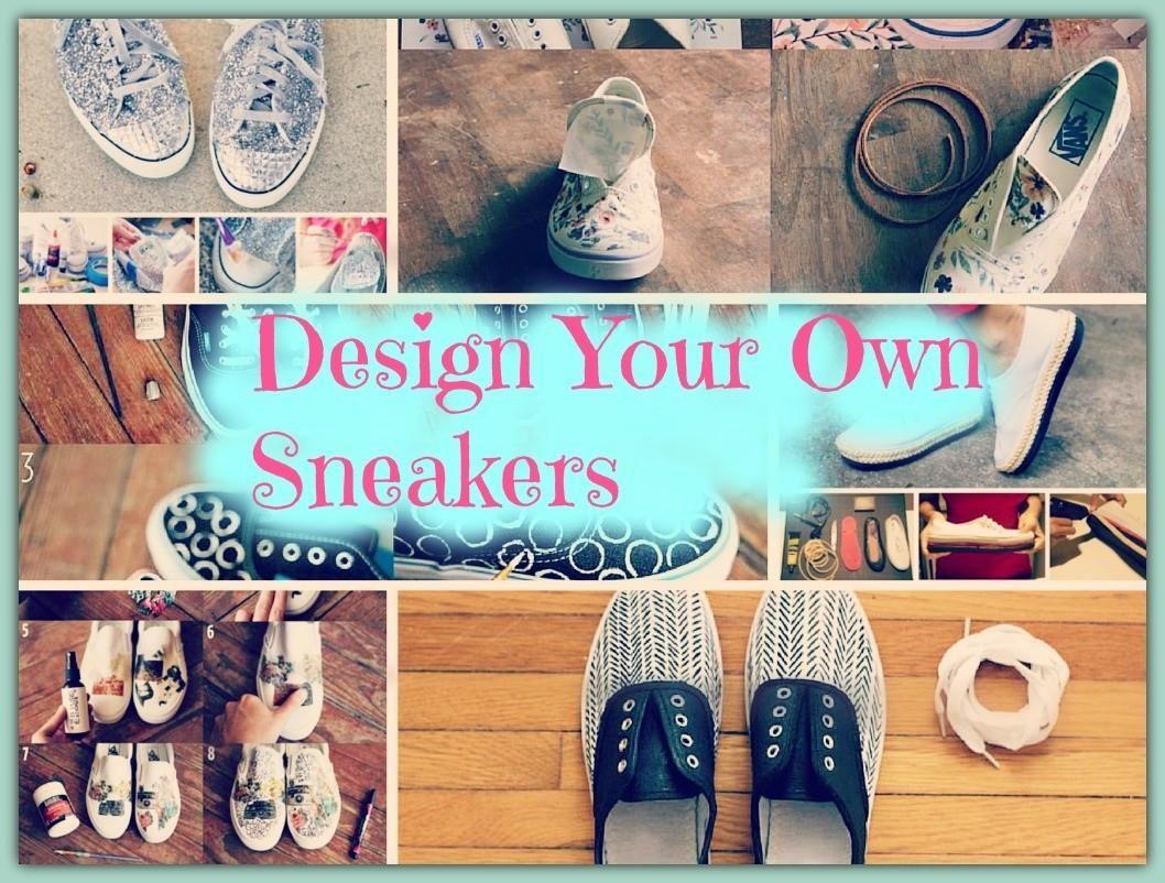 Most Innovative Diy Ways Design Your Own Shoes