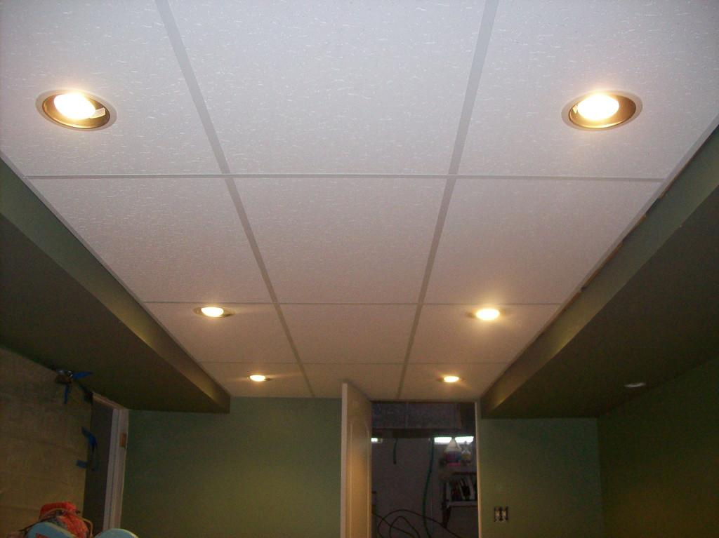 Most Installing Recessed Lighting Drop Ceiling