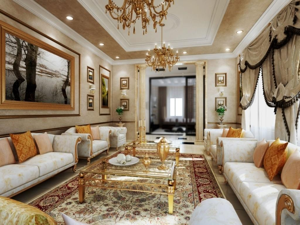 Most Luxurious Interior Design Royal Living Room