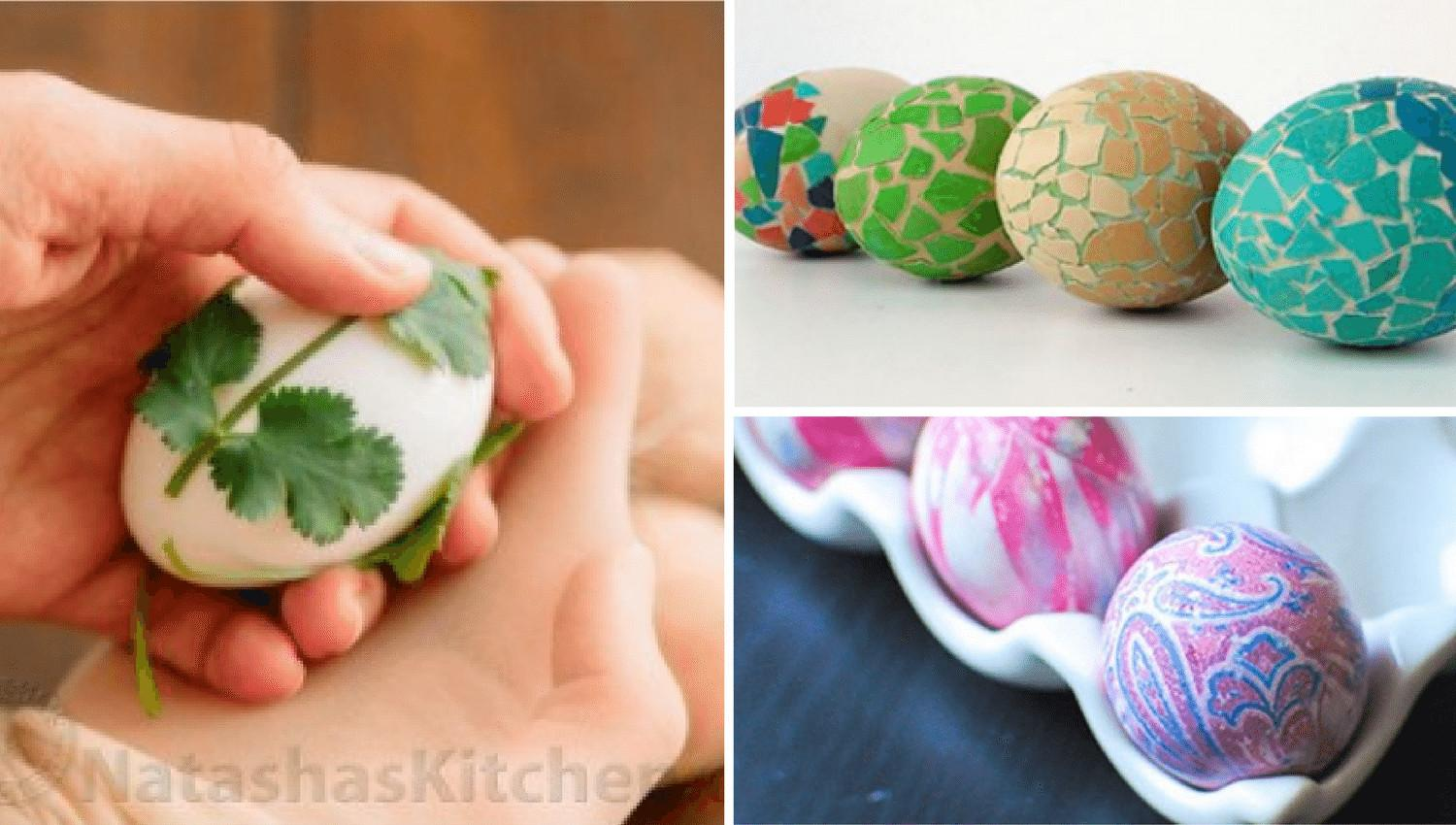 Most Popular Easter Egg Decorating Ideas