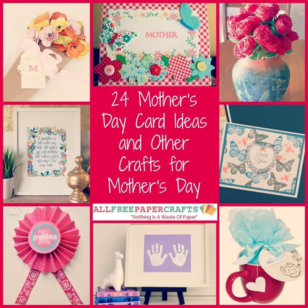 Mother Day Card Ideas Other Crafts