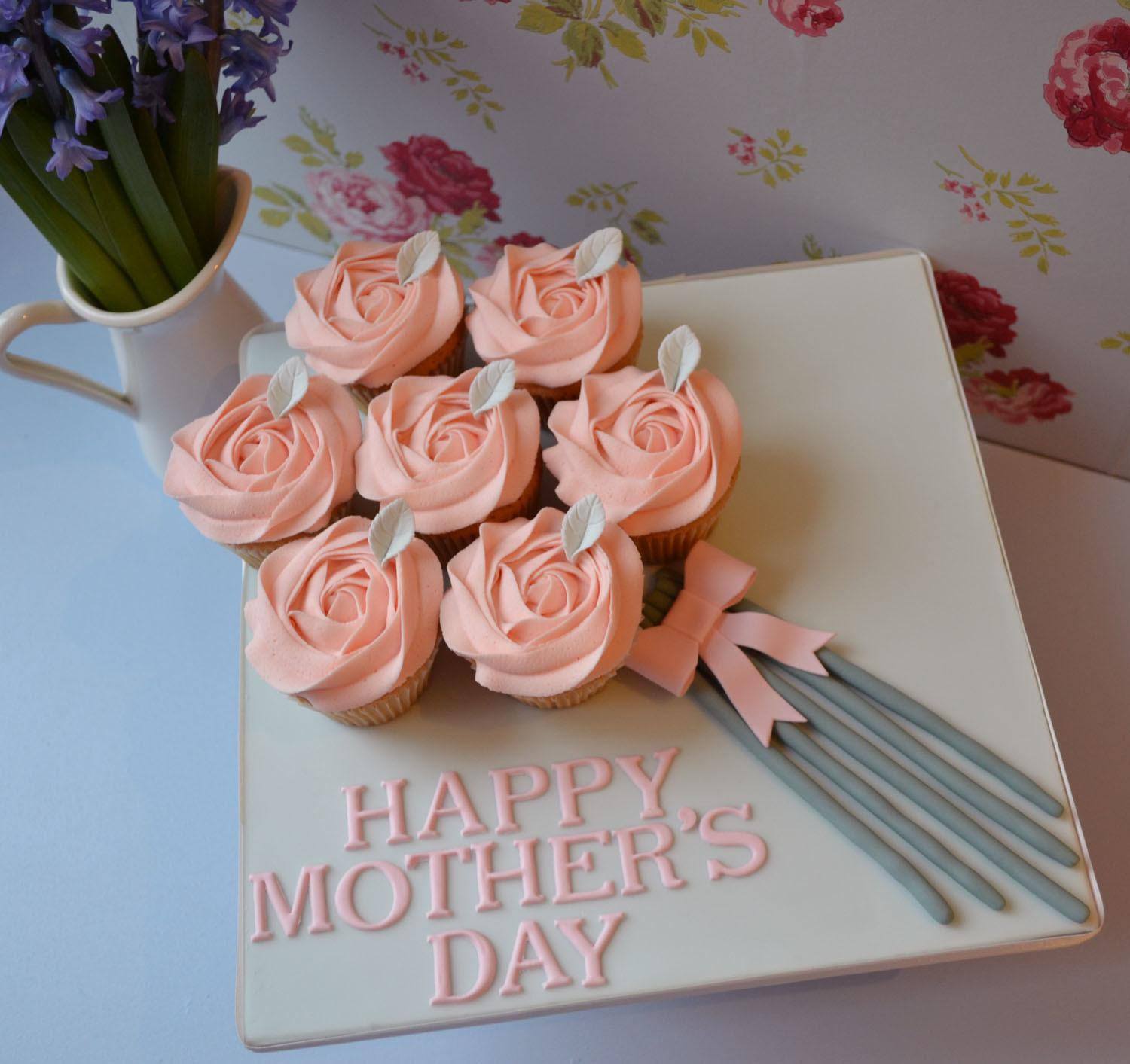 Mother Day Cupcakes Little Paper Cakes