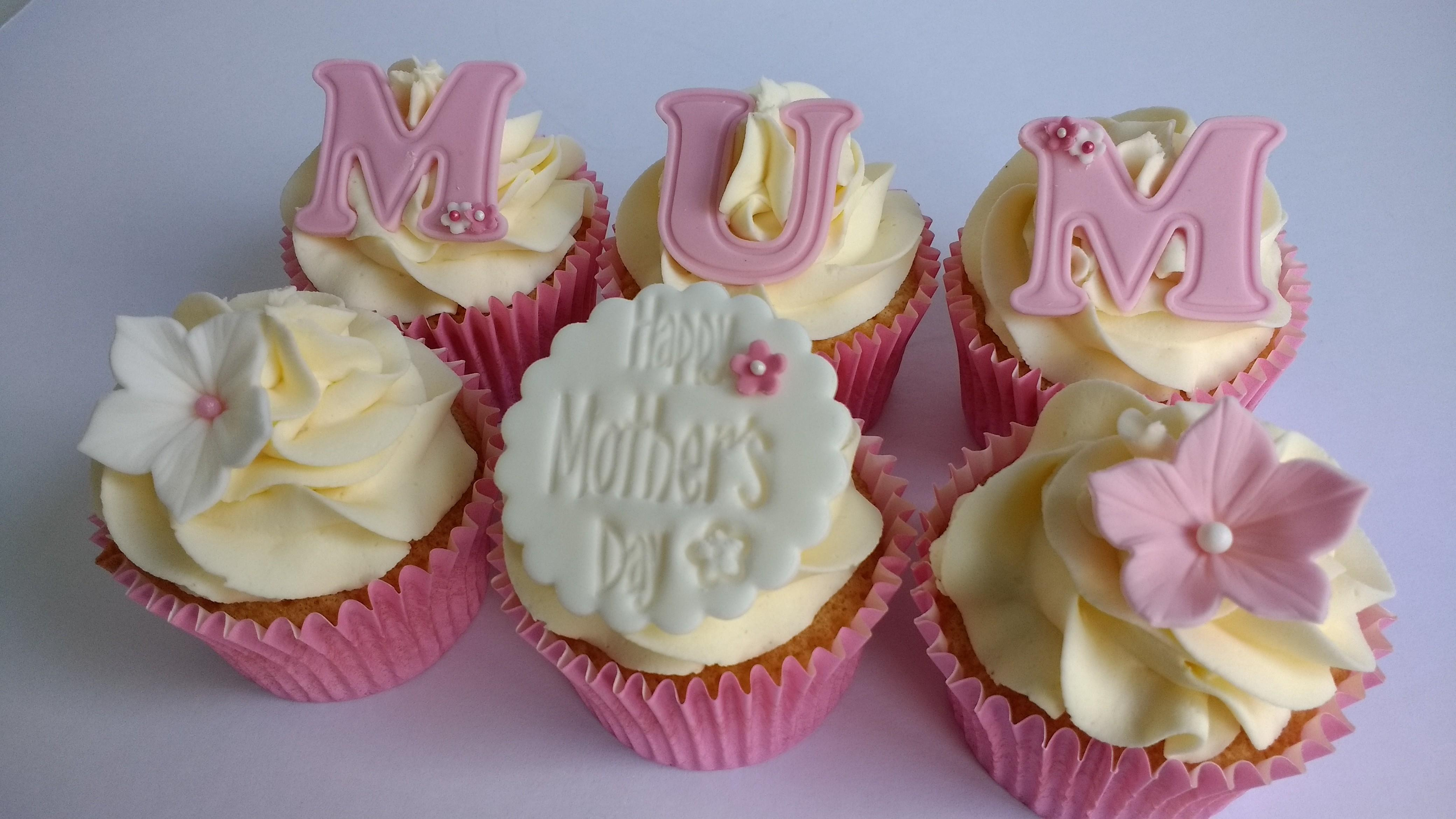 Mother Day Cupcakes Post Box