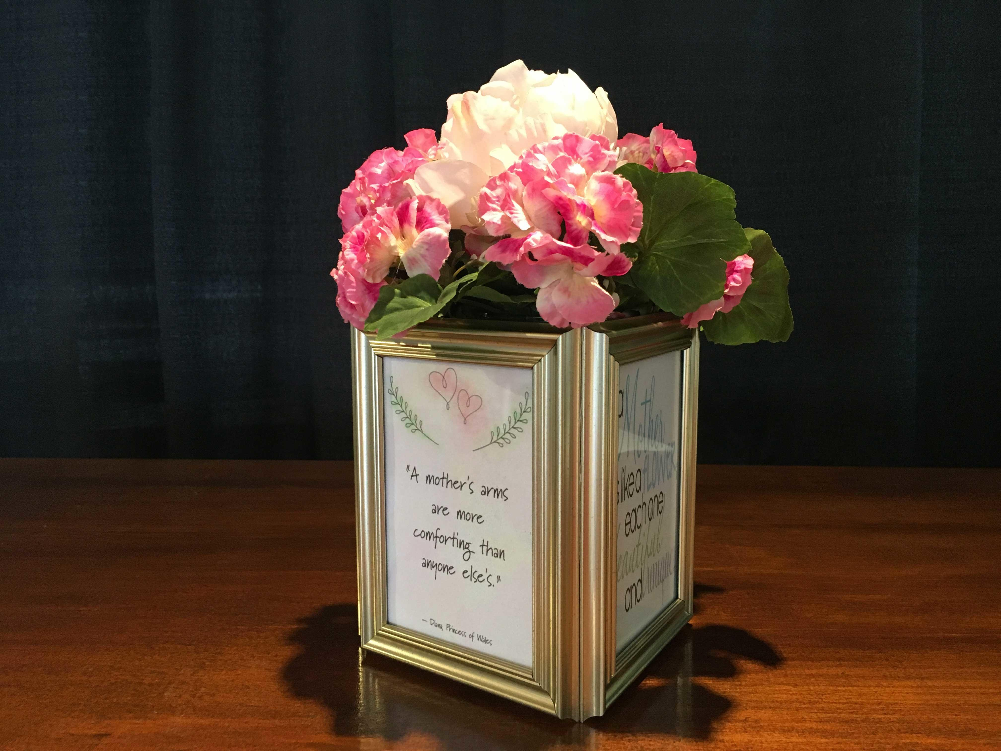 Mother Day Frame Centerpiece American Event