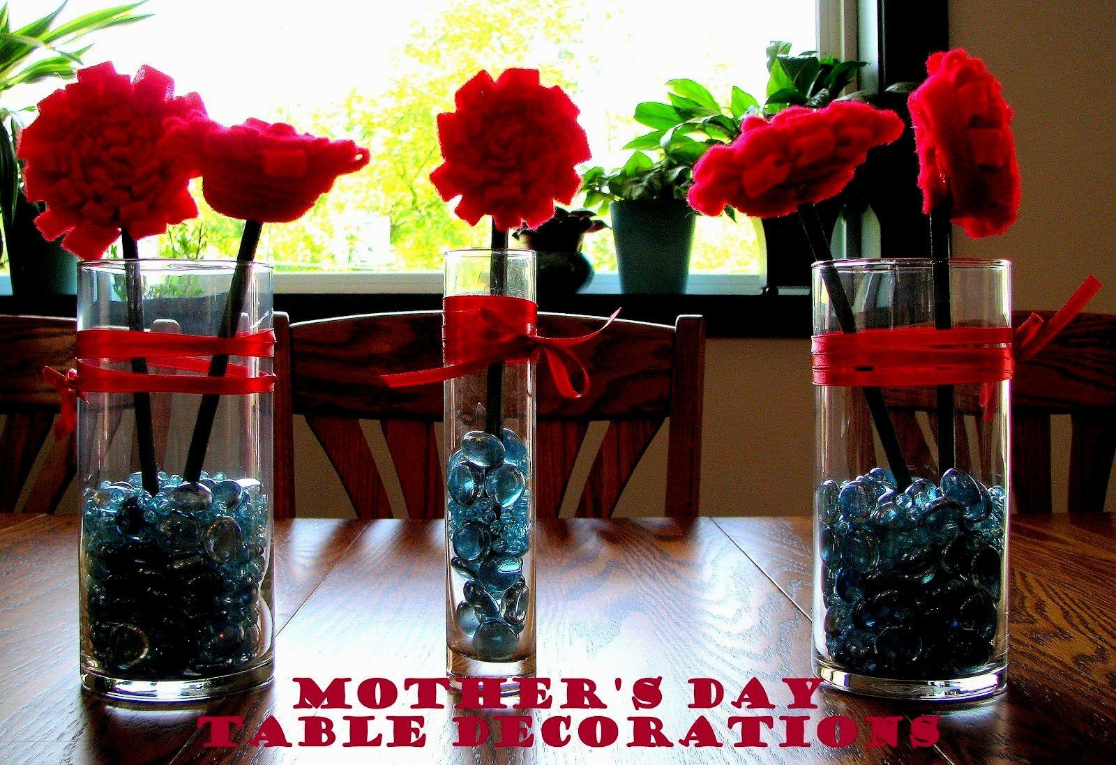 Mother Day Table Decorations Diy Archives Decorating