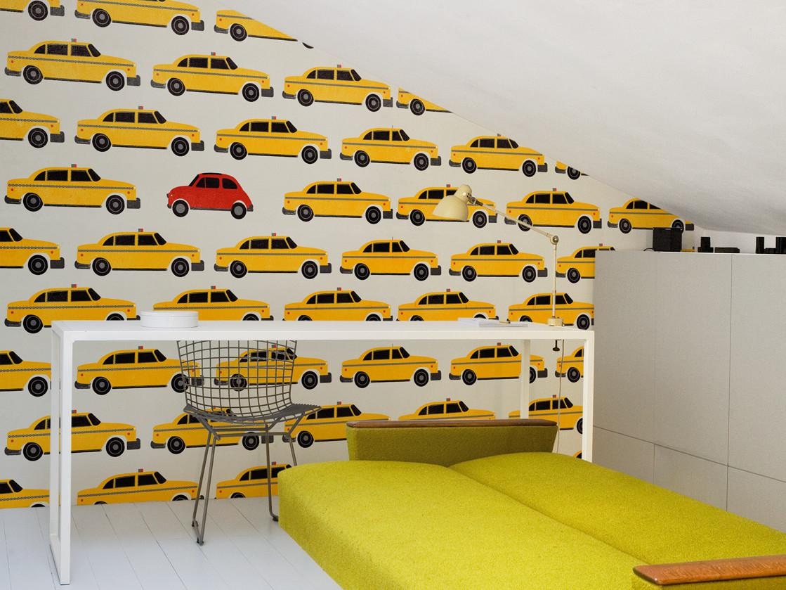 Motif Hey Taxi Think Tank Collection Wall