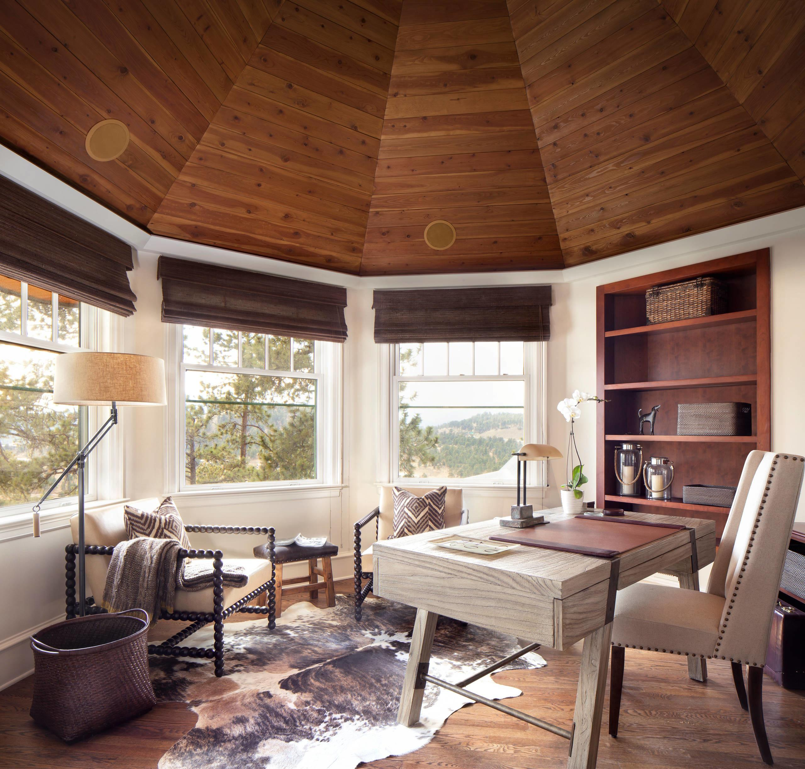 Motivational Rustic Home Office Designs