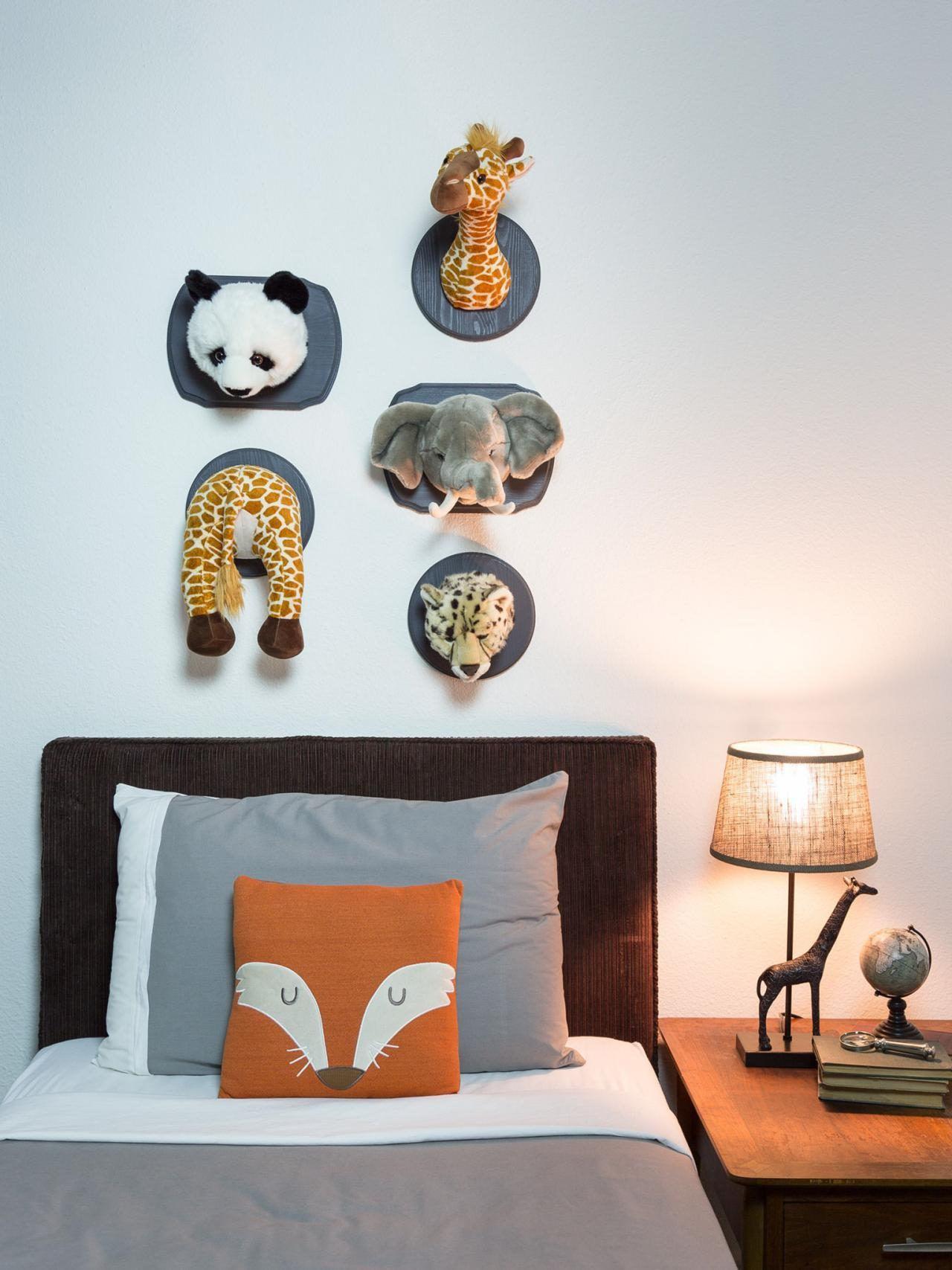Mount Stuffed Animals Wall Art Diy Network