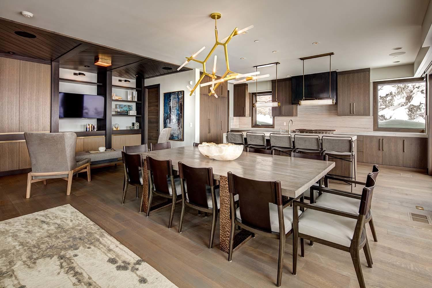 Mountain Modern Home Park City Lets Ski Your Door