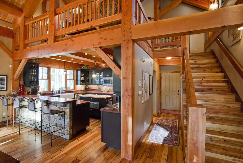 Mountain Retreat Timber Frame Residential Project