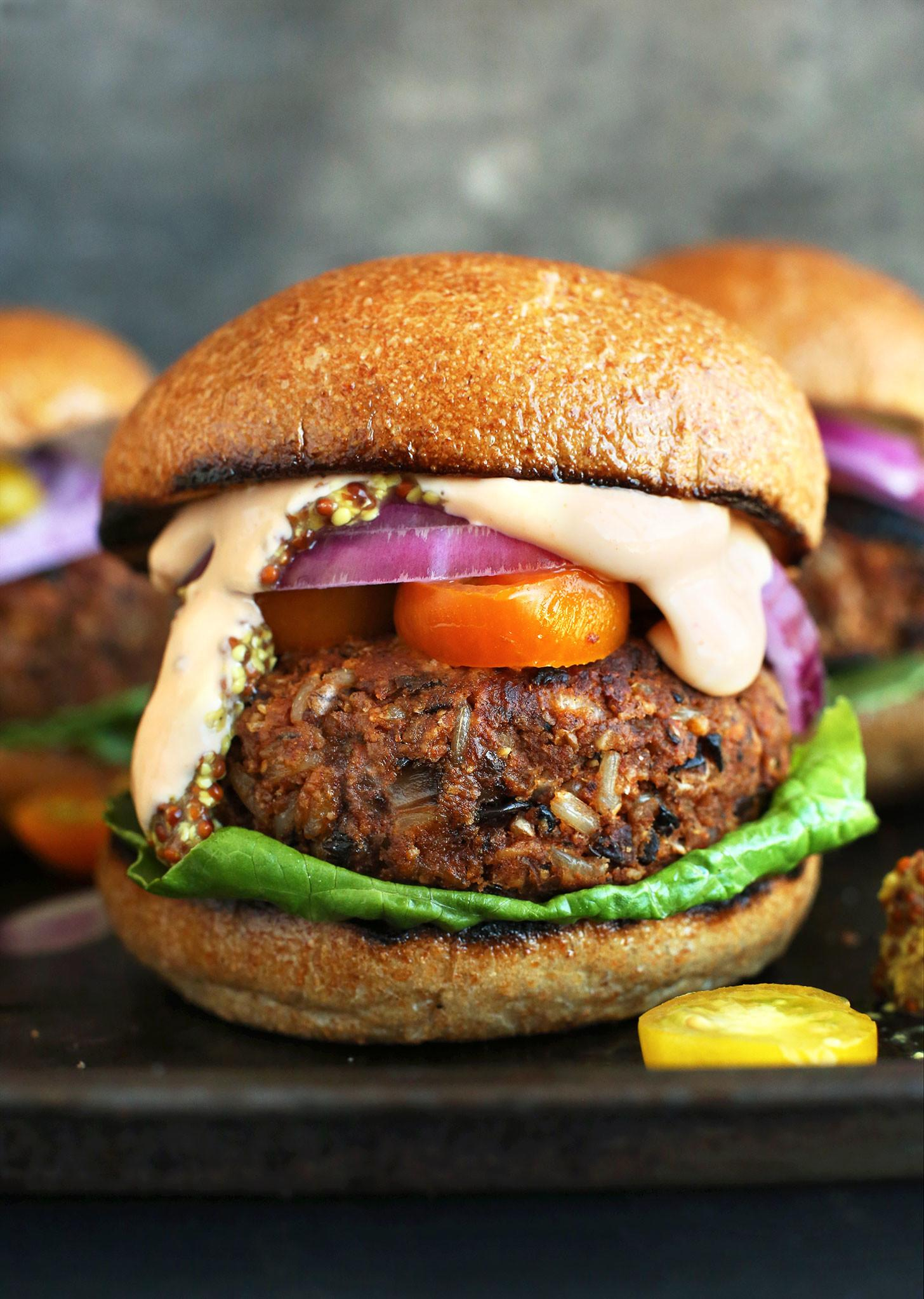 Mouth Watering Veggie Burger Recipes Hello Glow