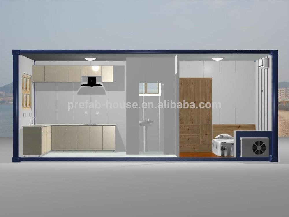 Movable Living Container House Office Shipping