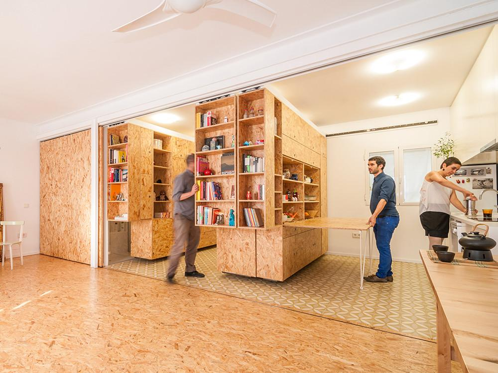 Moving Walls Transform Tiny Apartment Into Room Home
