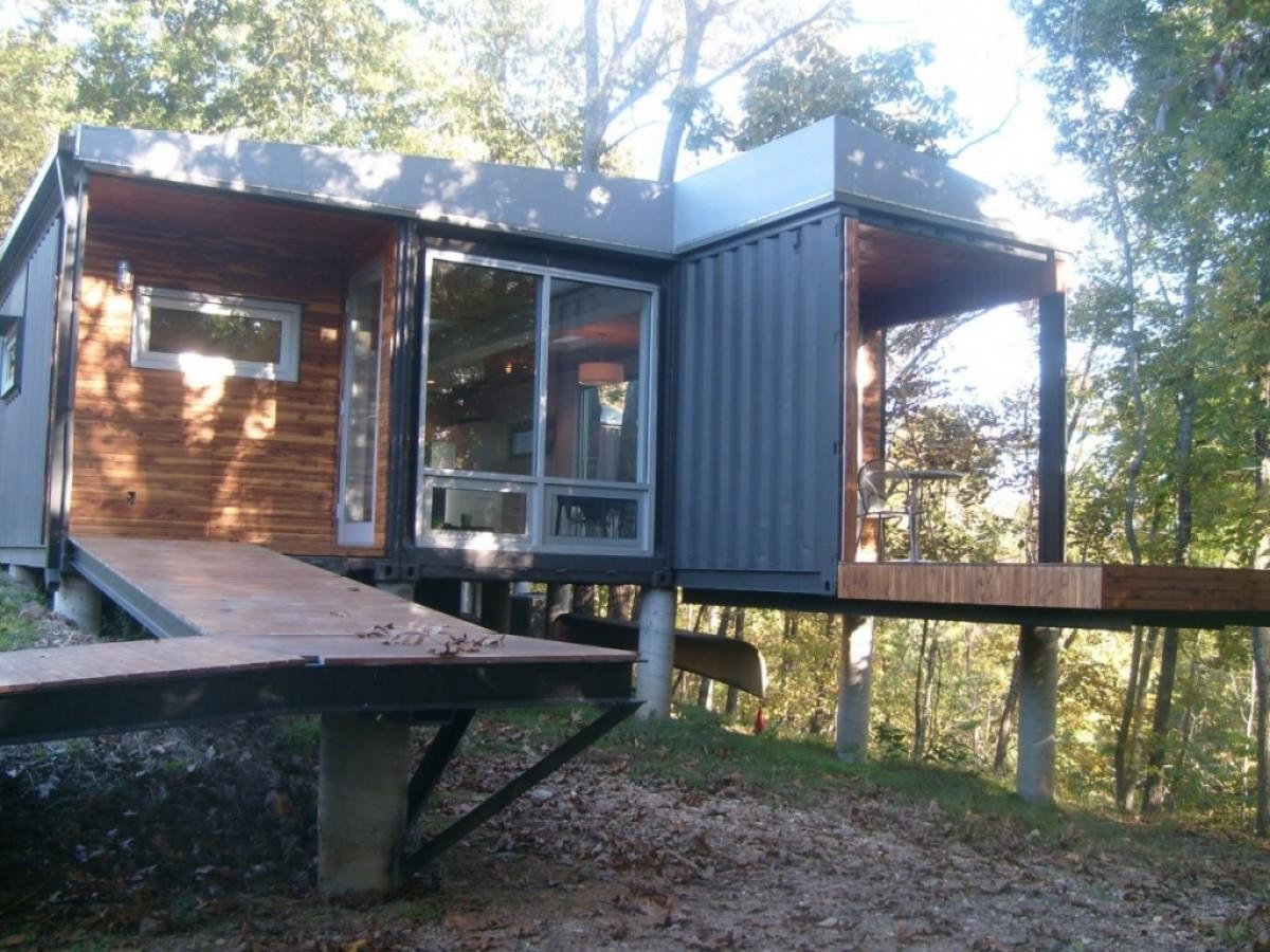 Much Shipping Container Home House Design