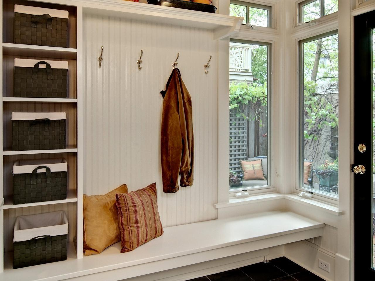 Mudroom Shelves Options Tips Ideas