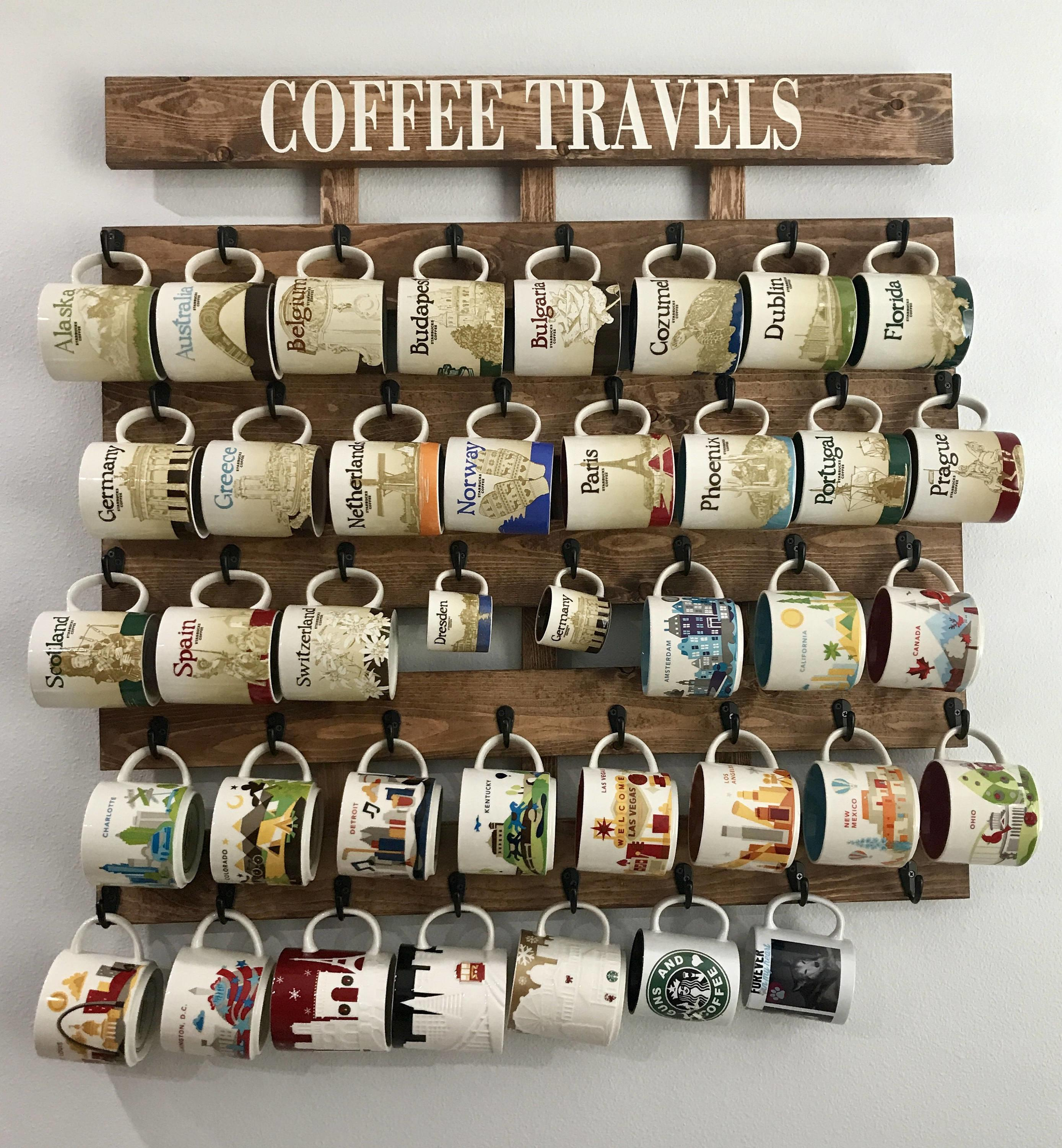 Mug Rack Coffee Cup Holder