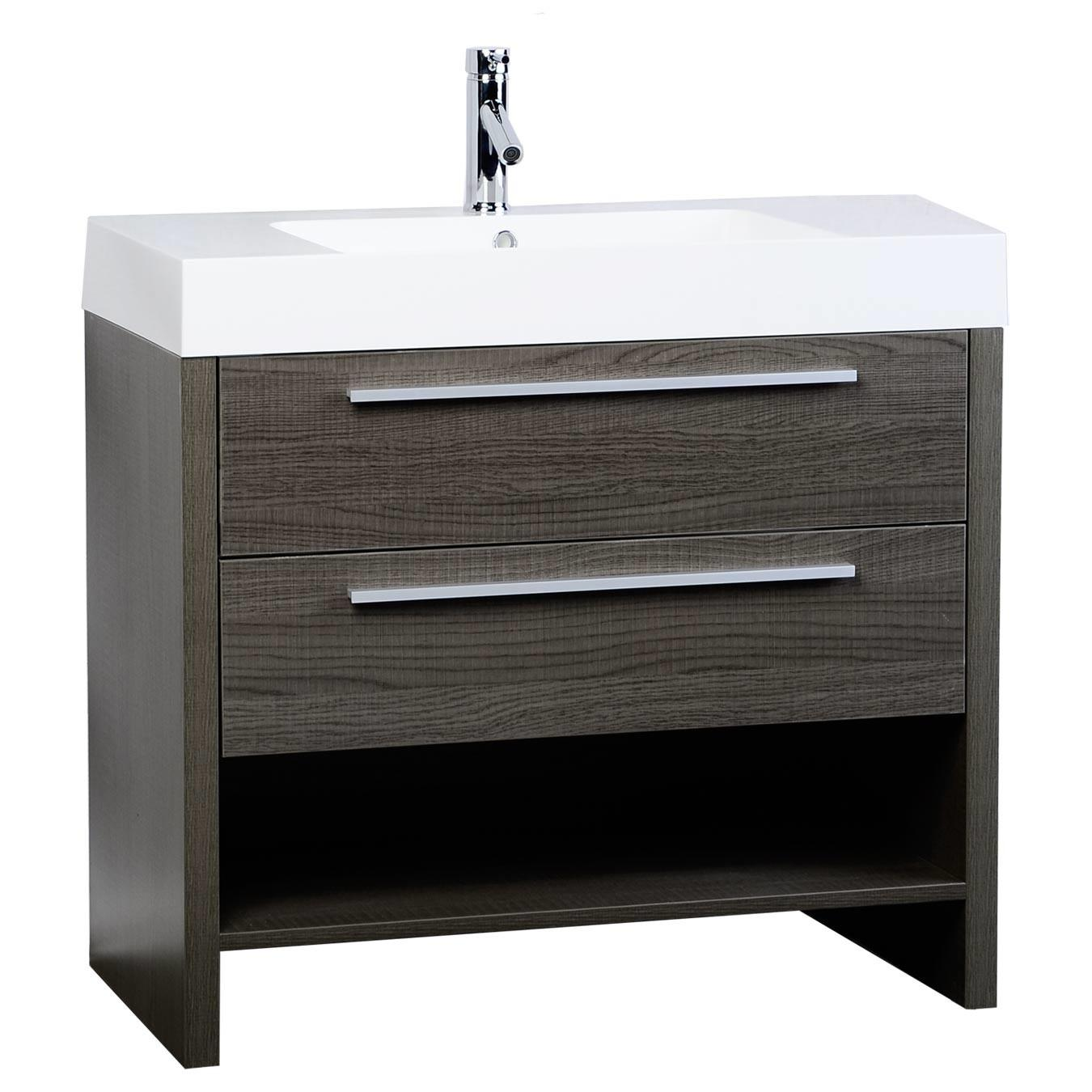 Mula Modern Bathroom Vanity Oak L900