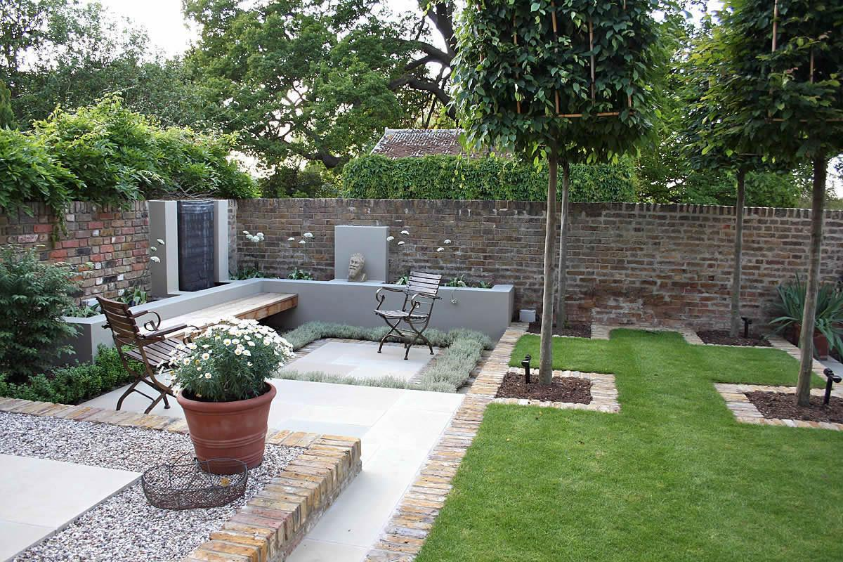 Multi Level Linear Garden Hertfordshire Designed Kate