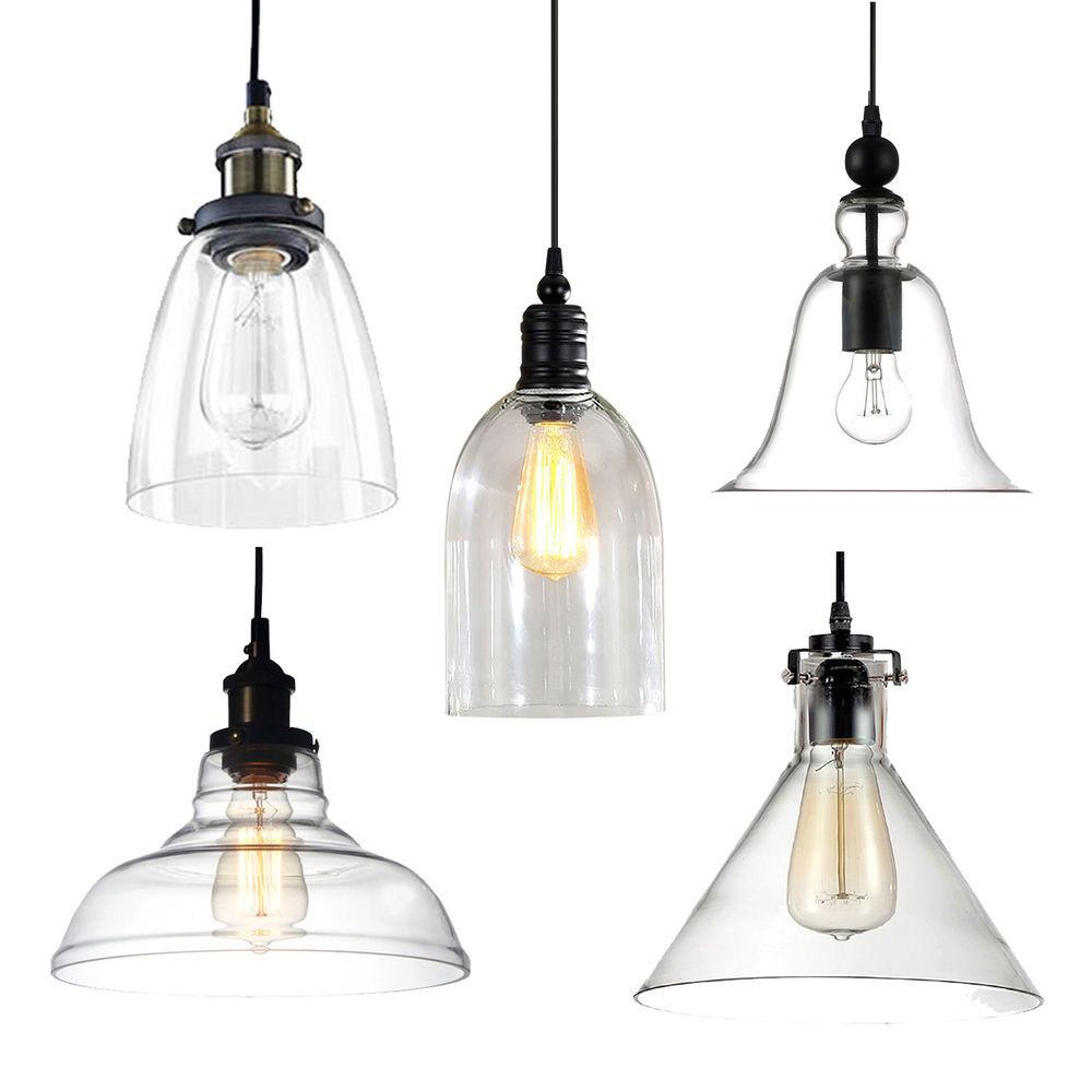 Multi Shape Vintage Industrial Ceiling Lamp Light Pendant