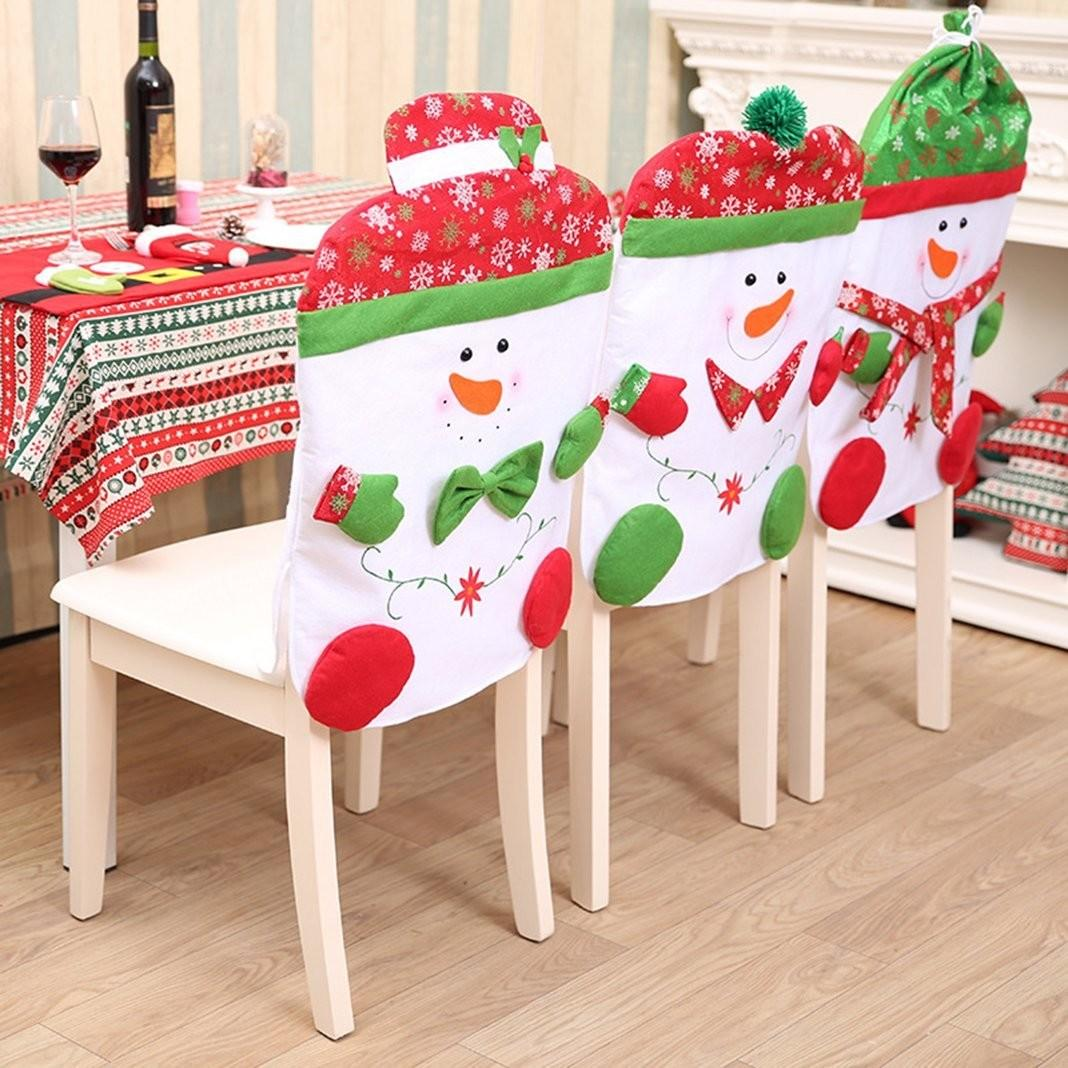 Must Have Christmas Chair Back Covers Unique