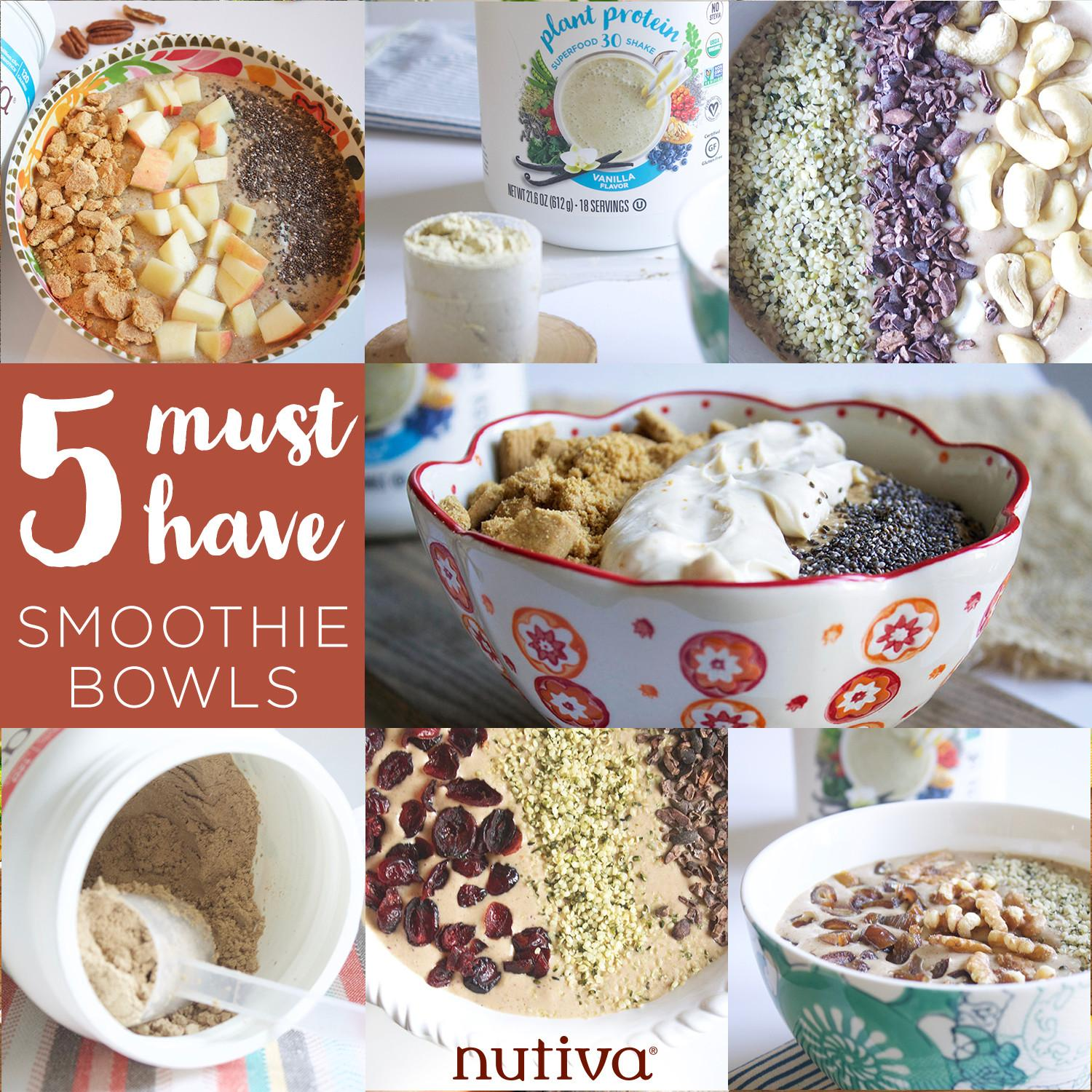 Must Have Fall Smoothie Bowls Nutiva Kitchen Table