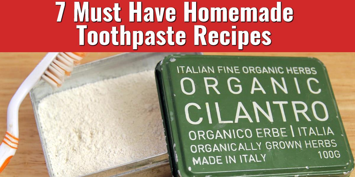 Must Have Homemade Toothpaste Recipes Total Survival