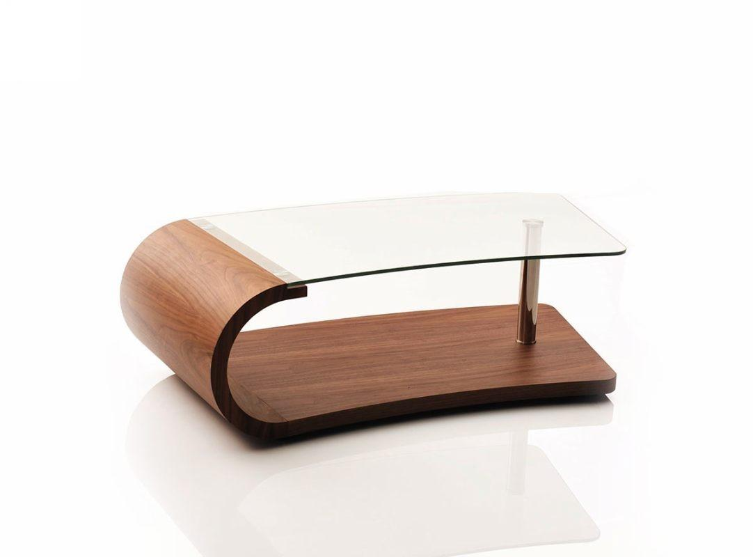 Myriad Designs Modern Walnut Coffee Table Coffe