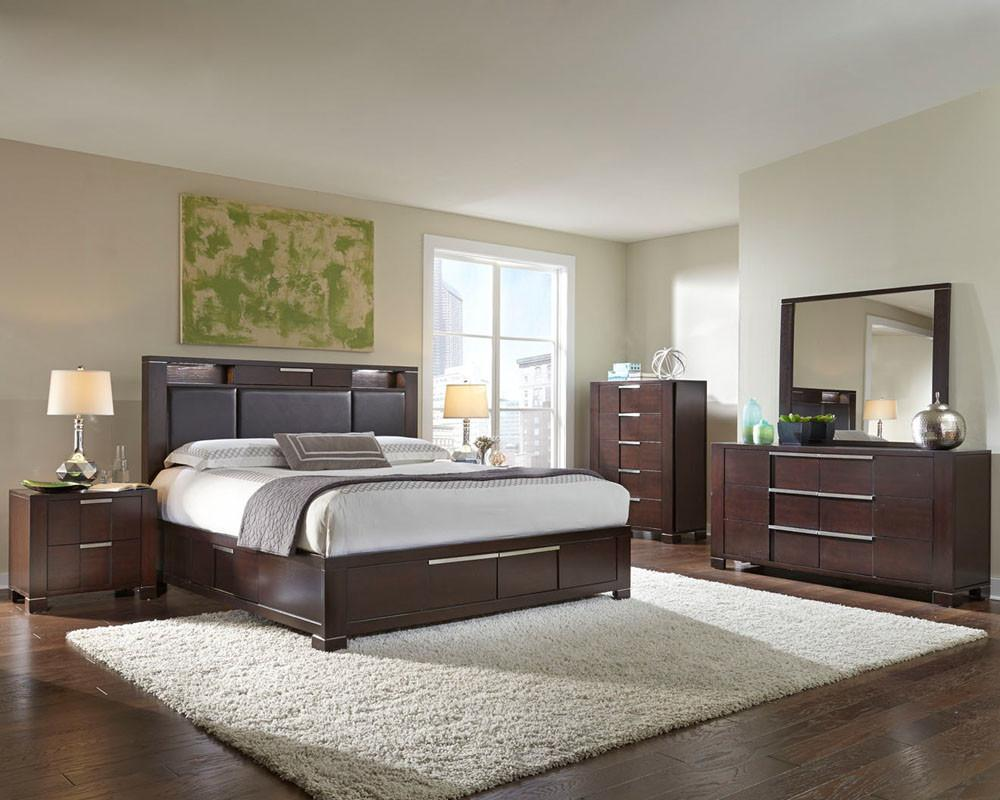 Najarian Furniture Contemporary Bedroom Set Studio Stbset