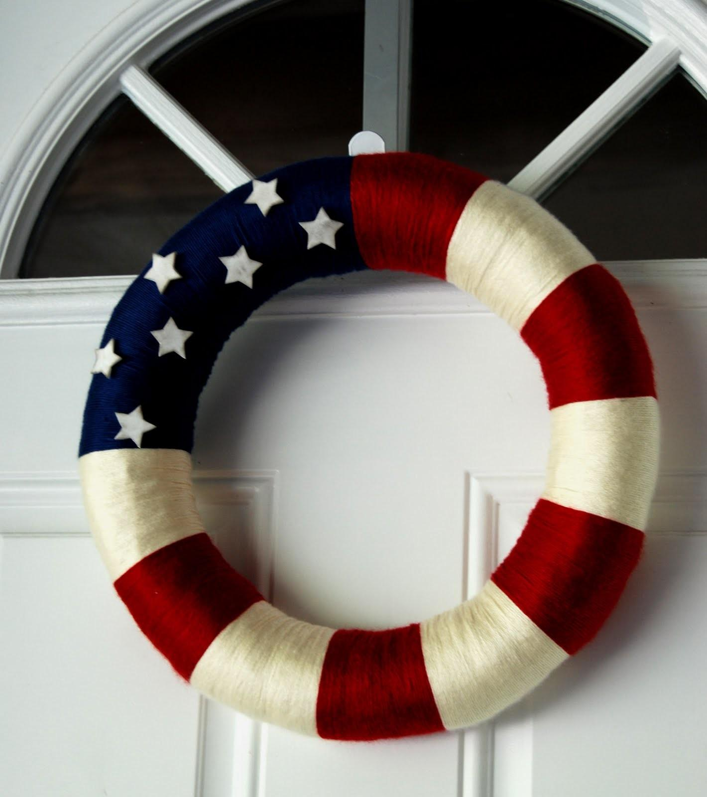 Nap Time Crafts Another Patriotic Wreath