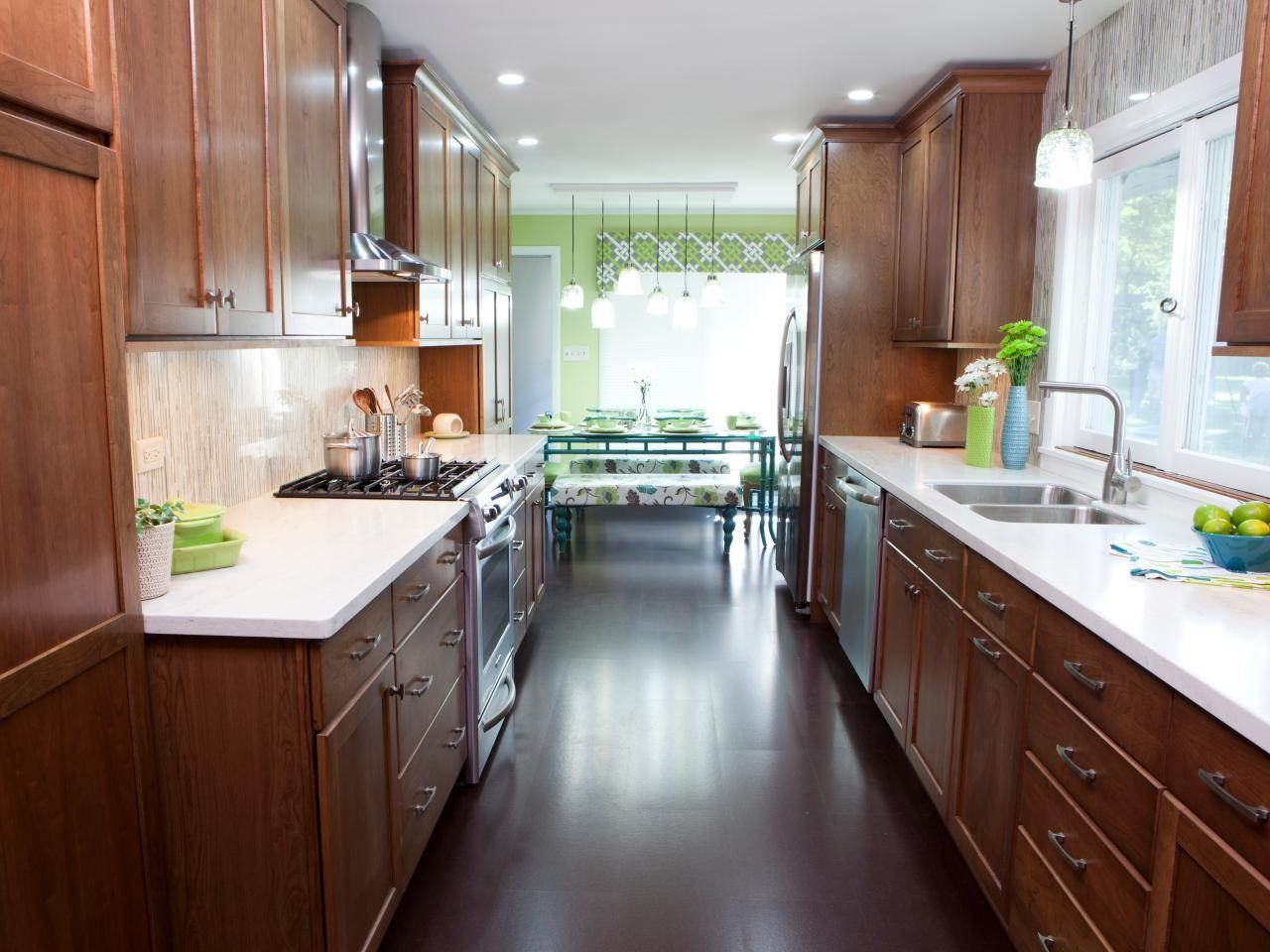 9 Creative Galley Kitchen Design Ideas That Will Leave You ...