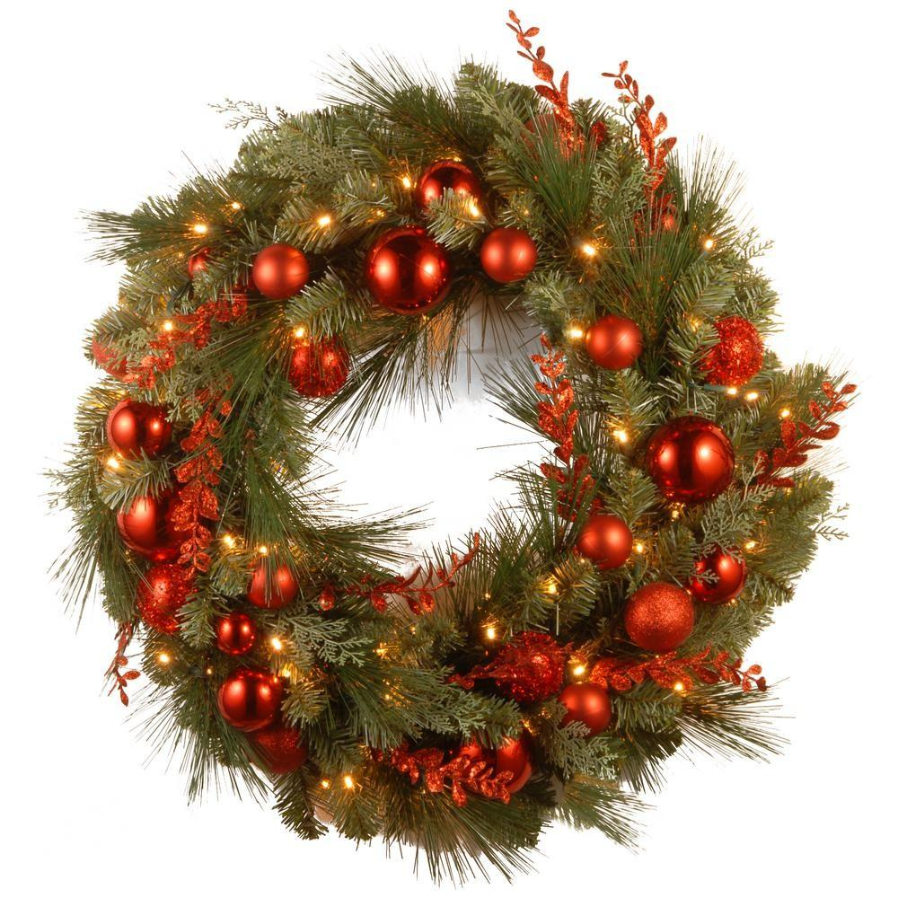 National Tree Company Decorative Collection Christmas Red